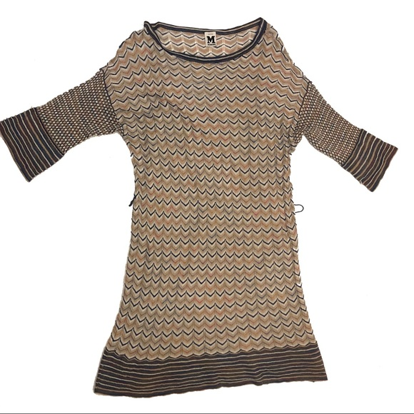 Missoni Dresses & Skirts - Missoni A Line Shift Dress Size 10 Chevron